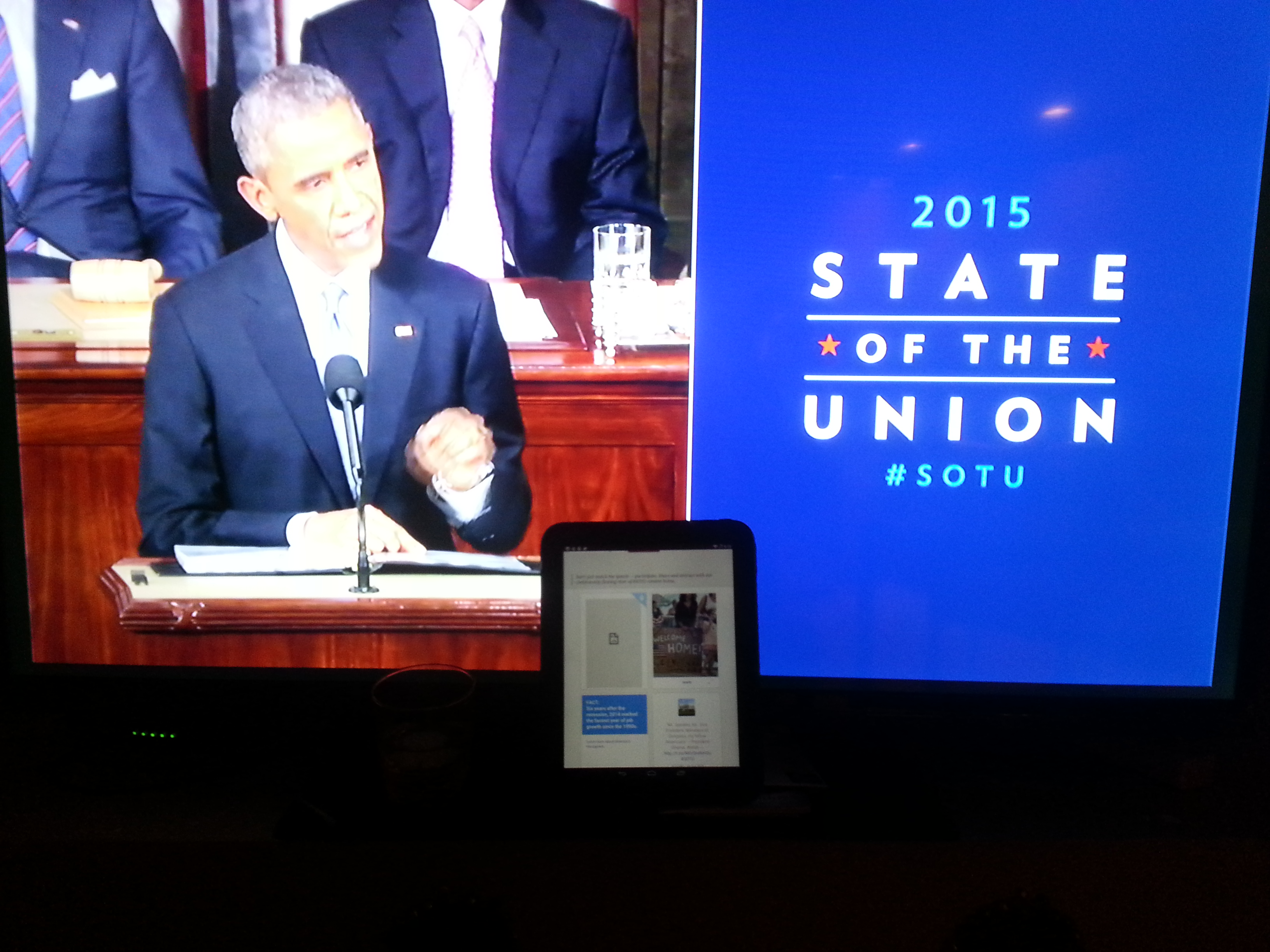 First Ever Interactive State of the Union